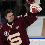Hokejový brankář Petr Bříza