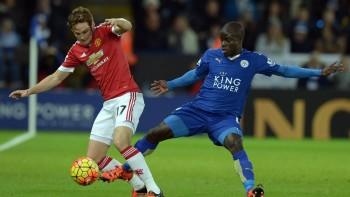 N'Golo Kanté v utkání proti Manchesteru United