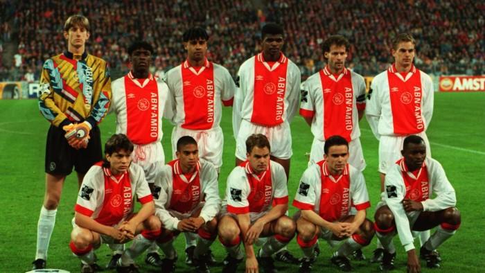 Sestava Ajaxu z roku 1995
