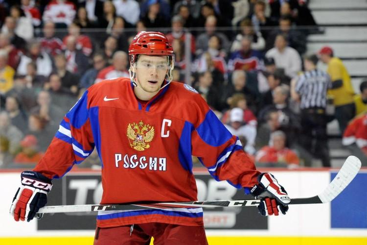 Evgeny Kuznetsov v dresu národního týmu