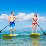Rozdíl mezi nafukovacím a pevným paddleboardem